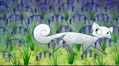 'Pangur Ban' from the Secret of Kells movie by Tomm Moore