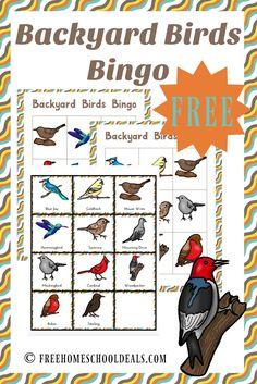 FREE BACKYARD BIRDS PACK How To HomeschoolFree