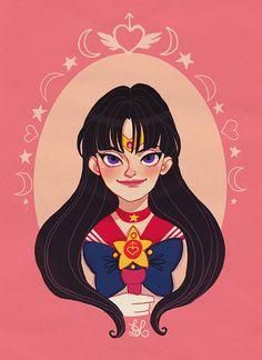 Sailor Mars by DixieLeota.deviantart.com on @deviantART