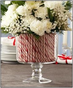 48 Simple Holiday Centerpiece Ideas 48 Simple Holiday Centerpiece Ideas,WeihnachtsDeko & Christbaumkugeln Related posts:live your best life today – If you still have a pulse, God still has a purpose.The ultimate list of the. Easy Holiday Decorations, Holiday Centerpieces, Centerpiece Ideas, Holiday Decorating, Holiday Ideas, Decorating Ideas, Candy Cane Decorations, Flower Centerpieces, Christmas Decorations For Outside