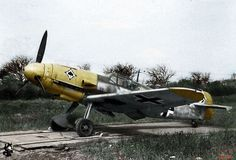 "Bf-109 del escuadron de cazas JG53 ""As de Picas"""
