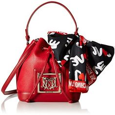 Love Moschino Scarf Bucket Shoulder Bag