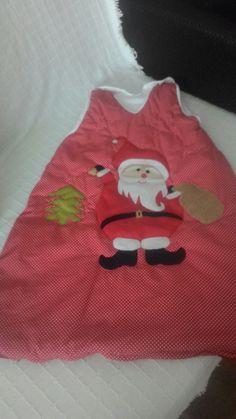 Noel babalı uyku tulumu