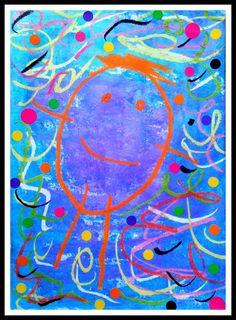 The drawing of the man evolves throughout the nursery school, bonhom . Preschool Art Activities, Petite Section, Nursery School, Kindergarten Art, Painting For Kids, Teaching Art, Elementary Art, Pre School, Art Lessons