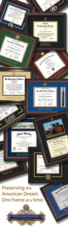 If you've already received your diploma, consider framing it and hanging it in a place of honor easily viewed by your guests. You deserve the oohing and ahhing after all of your hard work.