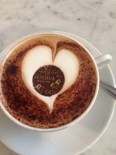 Cafe Godiva à Knightsbridge, Greater London