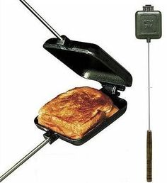 fire pit with ocean view - pie irons are so versatile you can make anything from grilled cheese sandwiches to instant fruit pies. Just pop in the ingredients, close, cook over the campfire, and out comes delicious sandwiches, or biscuit-dough fruit tarts, or dozens of other camp food choices.