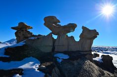 #40 Bisti / De-Na-Zin Wilderness, New Mexico : 60 mind-bending rock formations from around the world [PICs] - Matador Network