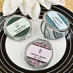 Personalized Expressions Collection Silver Metal Mirror-Baby- Looking for a thoughtful and functional favor that can be totally customized to match the exact theme of your event? Our compact mirror is the perfect choice! Our classic compact mirrors a Baby Shower Favors, Baby Shower Themes, Bridal Shower, Metal Mirror, Glass Mirrors, Mirrors For Sale, Shower Mirror, Event Themes