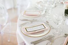 Wedding guest table decor in Kukua Punta Cana, Dominican Republic| Photo by Karina Jensen Photography