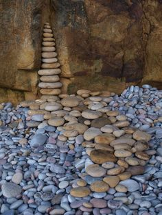 54 Creative DIY Project Water Pebble Garden Art with Stone - Master Home Decor
