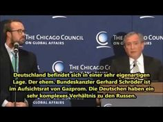 """▶ """"Global Affairs"""" 2015-03-17: 13min news conference by Chicago Council head George Friedman promoting book """"Flashpoints. The Emerging Crisis in Europe"""" • US being only Superpower & 1st power to control all oceans worldwide, needs to 1st admit it IS an empire, then use less psychotic fantasies and only intervene internationally selectively/rarely + EURO is dead + EU depends fully on German choices • US nightmare: German $/tech w/ Russian resources"""