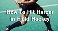 This video shows you the key parts of how to hit harder in field hockey which also helps with other hits or passes. You need to hit the ball harder in field hockey...