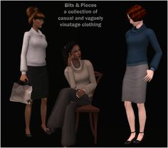 digitaldollies | Bits & Pieces - A collection of casual and vaguely vintage clothing