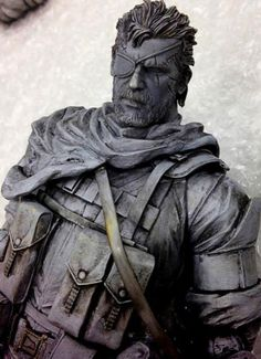 Metal Gear Solid 5 Figurine Shows Punished Snake in all His Glory