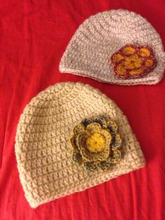 Flower hats for girls