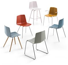Stratos #Chair from Maxdesign #design by Studio Hannes Wettstein @products4people