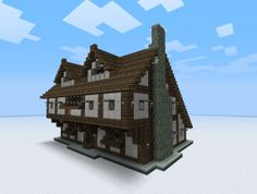 Medieval Minecraft buildings