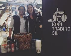 The masterminds behind @kopitradingco! Thanks for coming in to hang with the team! #BevForce #MeetTheMaker #Kopi #KopiCoffee #KopiTradingCo