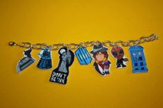 Buy directly from the world's most awesome indie brands. Or open a free online store. Charm Bracelets, Indie Brands, Bracelet Making, Awesome Stuff, Cartoon Characters, Doctor Who, Jewelery, Charms, Handle