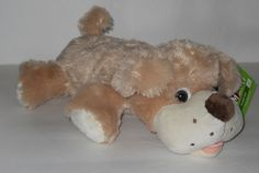 "NEW Golden Retriever Lying Plush Pup Puppy Dog Stuffed Animal 14"" Kellytoy NWT #Kellytoy"