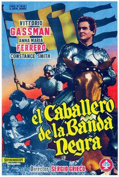 """El caballero de la banda negra (1956) """"Giovanni dalle bande nere"""" de Sergio Grieco - tt0049262"""