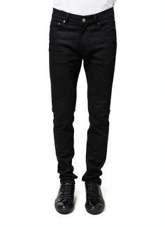 Acne Studios - Fall Winter 2014 - Menswear // Black Ace Jeans - Regular Waist, Skinny Leg