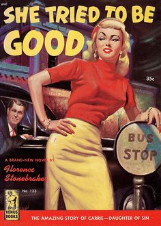She Tried to Be Good by vintageillu, via Flickr