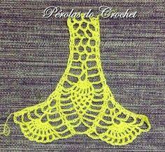 How to Crochet a Bodycon Dress/Top Crochet Beach Dress, Crochet Summer Tops, Crochet Shirt, Crochet Crop Top, Crochet Lace, Crochet Stitches Patterns, Crochet Designs, Diy Crafts Crochet, Pineapple Crochet
