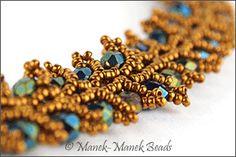 The Blue Peony : Manek-Manek, Bead Jewelry, Kits, Patterns & Workshops