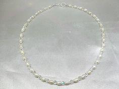 White Pearl Swarovski Clear AB Crystal by PearlsGemsnCrystals, $19.95