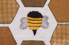 Bee-utiful Quilt-a-long Block 2 {Bee Productive} « Moda Bake Shop