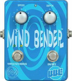 BBE Mind Bender Vibrato / Chorus Guitar Stomp Box by BBE Sound. $85.00