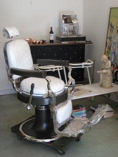 Antique Barber Chair Restoration | Metal Masters Restoration