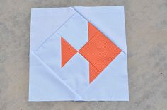 goldfish block | December Wish Circle Do Good Stitches | ericajackman | Flickr
