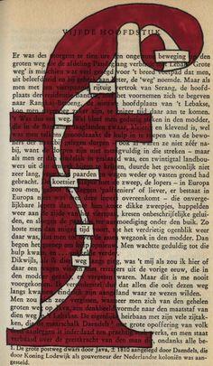 Een weg door de F: boeksel door Loes Vork in de Max Havelaar van Multatuli Workshops voor Creativiteit & Ontmoeting: Boekselen