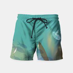 OceanBlue Swim Shorts