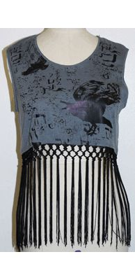 LIP SERVICE Fashion Victim crop top #12-043