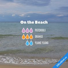 On the Beach — Essential Oil Diffuser Blend