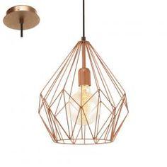 £36 1 Light Pendant Light Copper