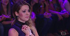 Théo, filho de Sandy, aparece pela primeira vez na TV e mamãe vai às lágrimas