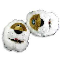 Padders Inc - Infant and Toddler Boys Tiger Slippers, White, Brown 11885-Large PADDERS. $11.90. Padders Inc. Machine Washable. Item 11885. Save 21% Off!