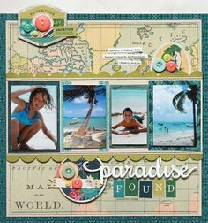 1148 best Scrapbook Travel images on Pinterest | Scrapbook layouts ...