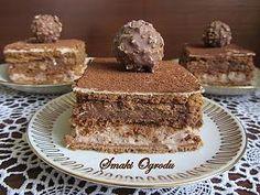 Ferrero rocher - ciasto bez pieczenia