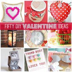 50 Fantastic DIY Valentine Ideas!!