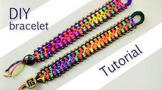 DIY Jewelry: Easy Criss-Cross Bracelet Tutorial by Macrame School on Youtube...  https://diypick.com/fashion/diy-jewelry/diy-jewelry-easy-criss-cross-bracelet-tutorial-by-macrame-school-on-youtube/