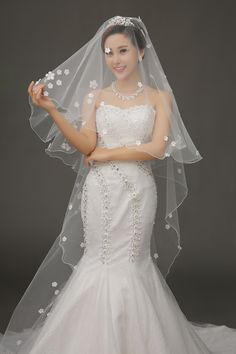 Cheap Bridal Veils, Buy Directly from China Suppliers:%09Fashion 2014 ivory wedding veil wedding veil singapore mantilla in english