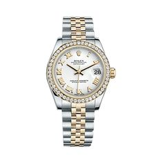 #Rolex Lady-Datejust Gold & Stainless Steel #Watch