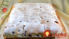 Najjemnejší koláč z kyslej smotany: Vanilkový krém je ukrytý priamo v ceste – neskutočná dobrota ku kávičke! Camembert Cheese, Food, Meal, Eten, Meals