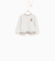 Imagen 1 de Camiseta animalitos de Zara